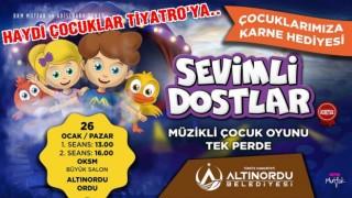"""""""SEVİMLİ DOSTLAR"""" ÇOCUKLARLA BULUŞUYOR.."""