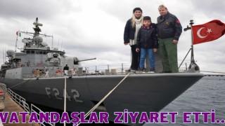 TCG FATİH (F-242) GEMİSİ ORDU'DA..