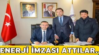 Üniversite ile Fatsa OSB arasında enerji anlaşması..