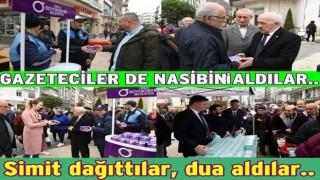 BELEDİYELERDEN ÜCRETSİZ KANDİL SİMİDİ İKRAMI..