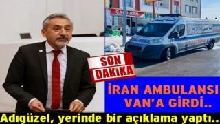 Coronavirüs salgını nedeniyle Van Kapıköy girişlere kapatıldı..