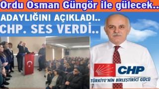 Osman Güngör, Siyaset değil, hizmet için geliyor..