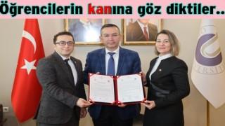 Üniversite Türk Kızılay arasında kan protokolü imzalandı.