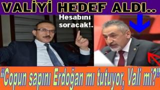 """Vali Yavuz, """"Adıgüzel kamuoyunu yanıltıyor"""""""
