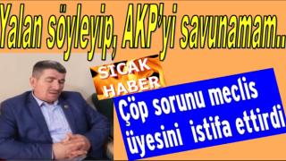 24 saat nezarette yatan meclis üyesi AKP'den istifa etti..