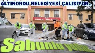 Altınordu Belediyesi Koronavirüs mücadelesine devam..