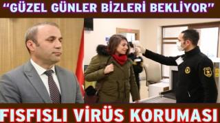 Bülent Şişman Koronavirise karşı tedbirli olunmasını istedi..