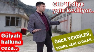Gülyalı Belediye başkanı Ulaş Tepe isyan etti..