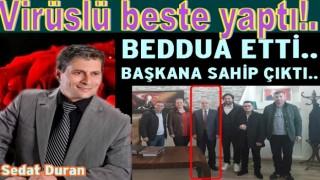 Ordu'lu sanatçı Sedat Duran Virüs için beste yaptı..