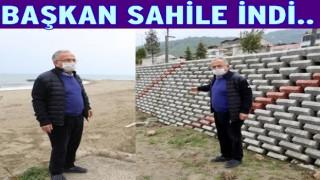 Kumbaşı sahili Karadenizin en güzel plajı olacak..