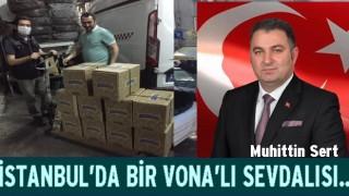 Muhittin Sert, İstanbul'daki Perşembeli'lerin umudu oldu..