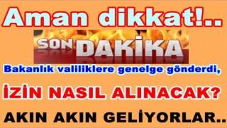 65 YAŞ ÜSTÜ SEYAHAT GENELGESİ YAYINLANDI..