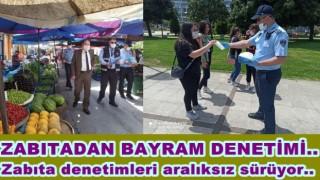 ALTINORDU BELEDİYESİNDEN BAYRAM DENETİMLERİ..