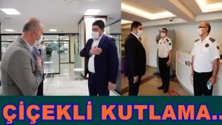 BAŞKAN AŞKIN TÖREN, PERSONELİ İLE BAYRAMLAŞTI..