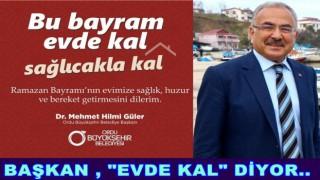 """""""BU BAYRAMDA BEDENLERİMİZ DEĞİL, GÖNÜLLERİMİZ KUCAKLAŞACAK"""""""
