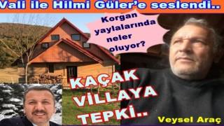 Korgan Belediye başkanı Tuncay Kiraz'a hesap sorulmasını istedi..