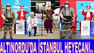 ORDU'DA İSTANBUL'UN KURTULUŞU KUTLANDI..