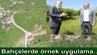 ORTAR ZİRAAT ODASI İLE İŞBİRLİĞİ YAPTI..