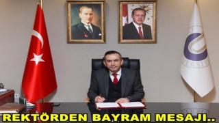 Rektör Prof. Dr. Ali Akdoğan'ın Ramazan Bayramı Kutlama Mesajı ..