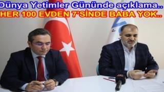 Türkiye'de 268 bin yetim, 81 bin öksüz var..