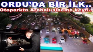 """AŞKIN TÖREN'DEN """"ARABALI SİNEMA"""" ETKİNLİĞİ.."""