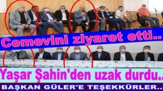 Başkan Güler'e Cemevinde yemek ziyafeti..