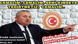 Cemal Enginyurt ihraç edilirse, Ordu'da AKP'yi ihraç eder..