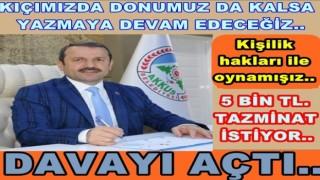 GAZETEMİZ HAKKINDA TAZMİNAT DAVASI AÇTI..