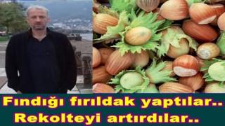 HALUK ŞENSOY'UN FINDIK REKOLTESİNİ ÇALDILAR..