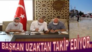 """Başkan Güler, talimat verdi. """"24 saat çalışın"""""""