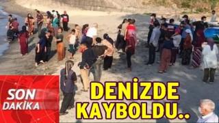 FINDIK İŞÇİSİ DENİZDE KAYBOLDU..