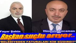 Gürgentepe Belediye başkanı Yaşar Şahin Faturaların peşine düştü..