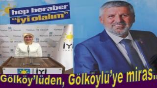 İYİ Parti Ordu İl başkanlığına 2. kez Gölköy'lü seçildi..