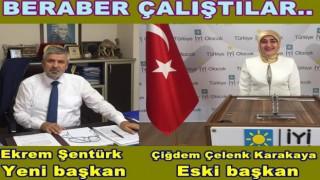 İYİ Partinin eski ve yeni başkanlarından sitemli yorum..