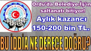 SENDİKA BAŞKANININ OĞUL-GELİN SALTANATI..