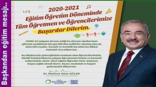 2020-2021 EĞİTİM ÖĞRETİM YILINI KUTLUYORUM..