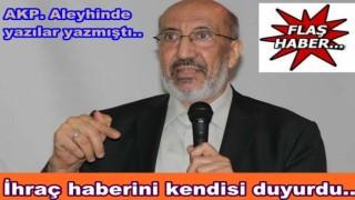 Abdurrahman Dilipak oy birliği ile ihraç edildi..