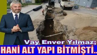 BÜYÜKŞEHİR ALT YAPI ÇALIŞMALARINA BAŞLADI..