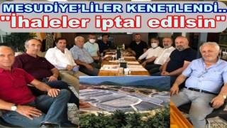 Maden sahası için yapılacak ihalelere büyük tepki var..