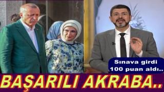 Mehmet Fatih Çıtlak, sınav birincisi oldu..