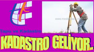 Ordu'nun 52 Mahallesinde Kadastro çalışması başladı..