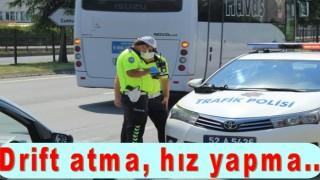 Trafik kurallarına uymayan sürücülere ceza yağdı..