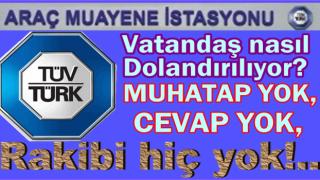 TÜV-TÜRK adına randevu alan vatandaşlar dolandırılıyor..