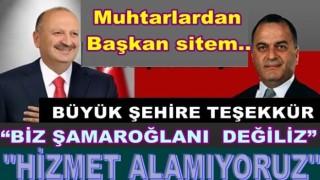 Ünye'li Muhtarlar başkan Tavlı'ya tepki gösterdi..