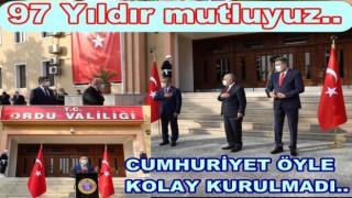 29 Ekim Cumhuriyet Bayramı'nın 97. yıldönümü kutlandı..