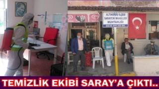 Altınordu'da bu hafta Saraycık Mahallesi temizlendi.