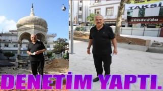 Başkan Hilmi Güler, çalışmaları denetledi..