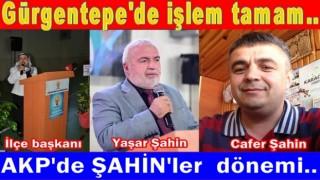 Başkan Yaşar Şahin'in sponsoru, Cafer Şahin AKP. yönetimine girdi..