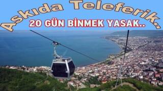 BOZTEPE TELEFERİĞİ BAKIMA ALINIYOR..
