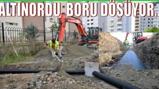 Cumhuriyet Mahallesine Cumhuriyet bayramı boru döşeme müjdesi..